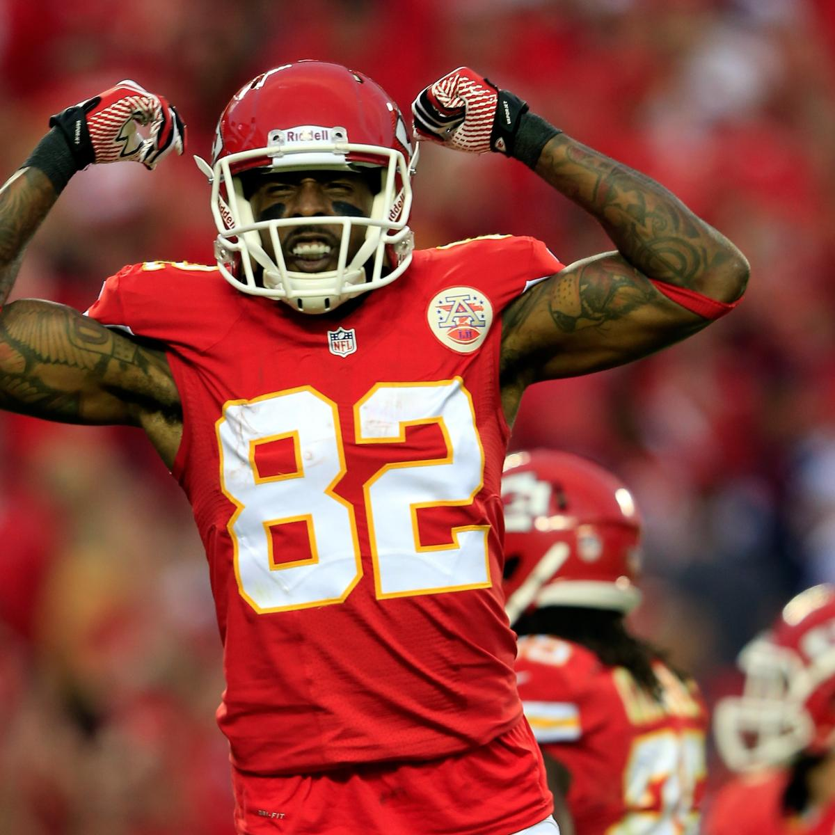 Are the Kansas City Chiefs set at wide receiver?