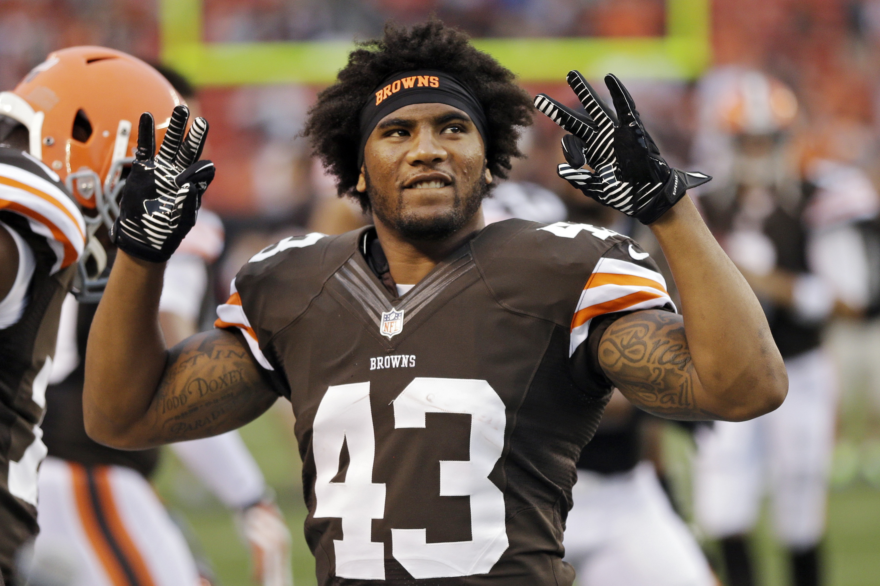 Why the Cleveland Browns Absolutely Must Re-Sign T.J. Ward | Bleacher  Report | Latest News, Videos and Highlights