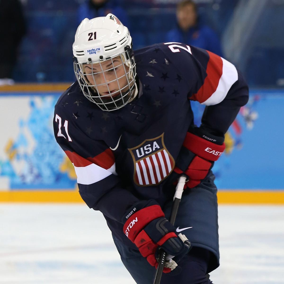 Sochi 2014: Women's Hockey USA vs. Switzerland Live Blog ...