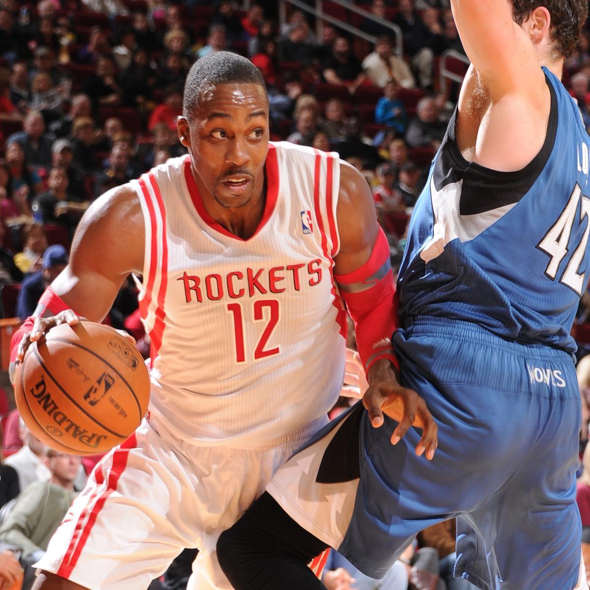 Houston Rockets Vs. Minnesota Timberwolves: Live Score And
