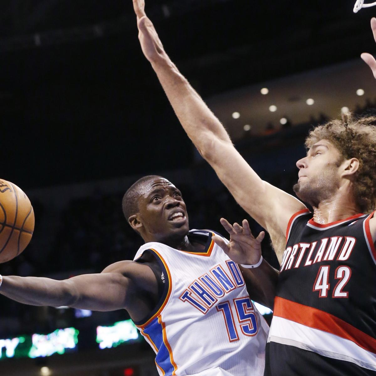 Oklahoma City Thunder Vs. Portland Trail Blazers Odds
