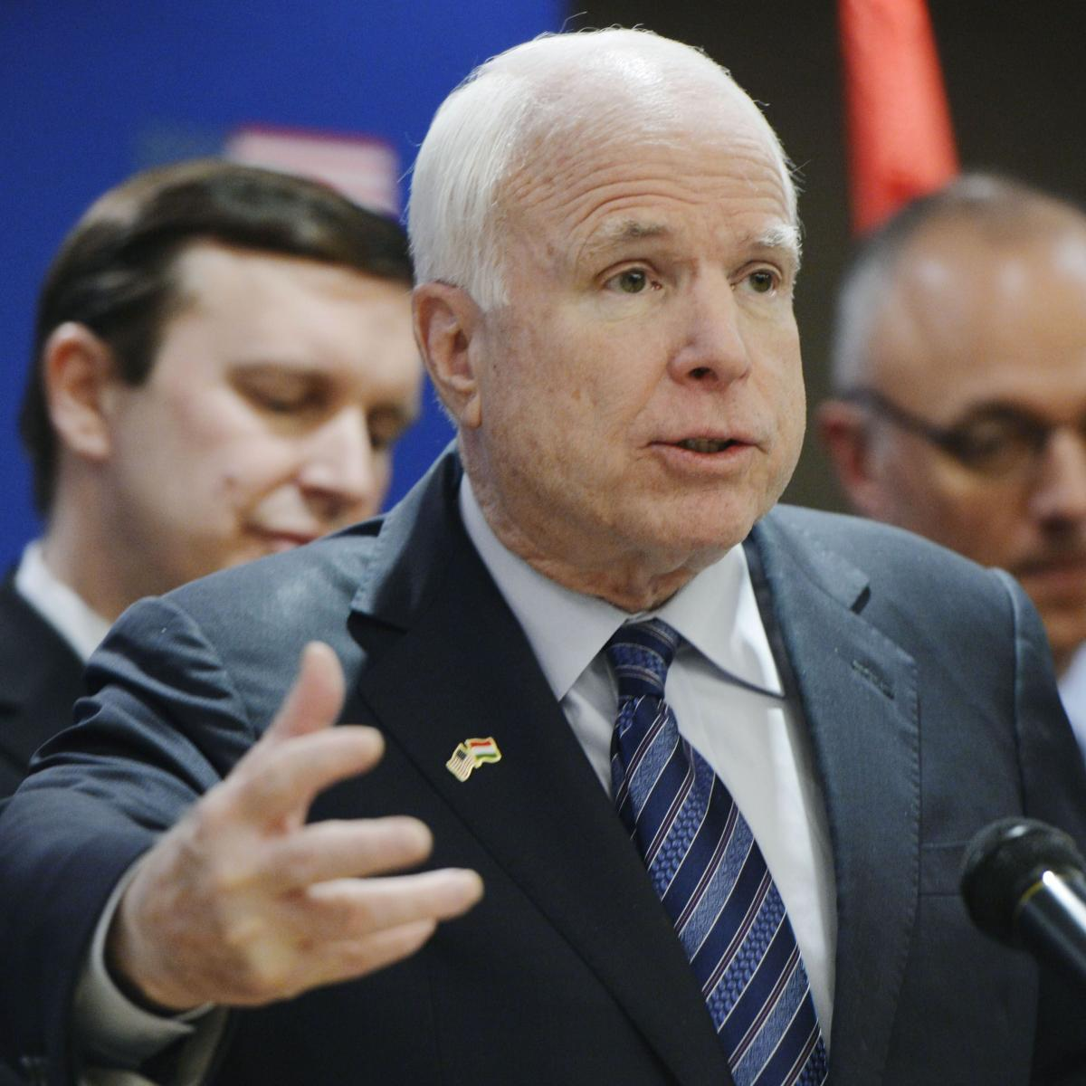 "John Mccain Latest News Photos And Videos: Senator John McCain Says He ""Absolutely"" Would Have Tried"