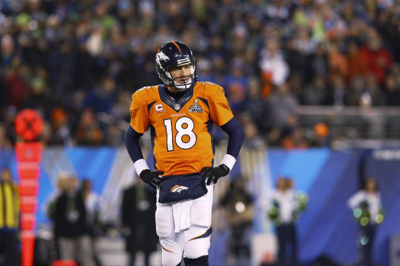 timeless design ea550 06bca Why Super Bowl XLVIII Was a One and Done for Peyton Manning ...