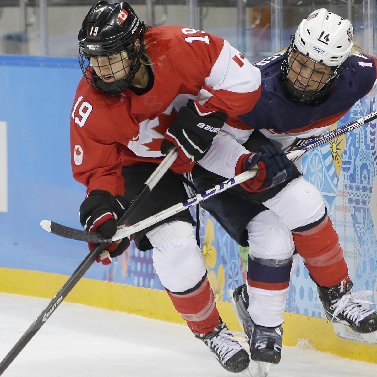 Canada vs. Switzerland Women's Hockey: TV, Live Stream ...
