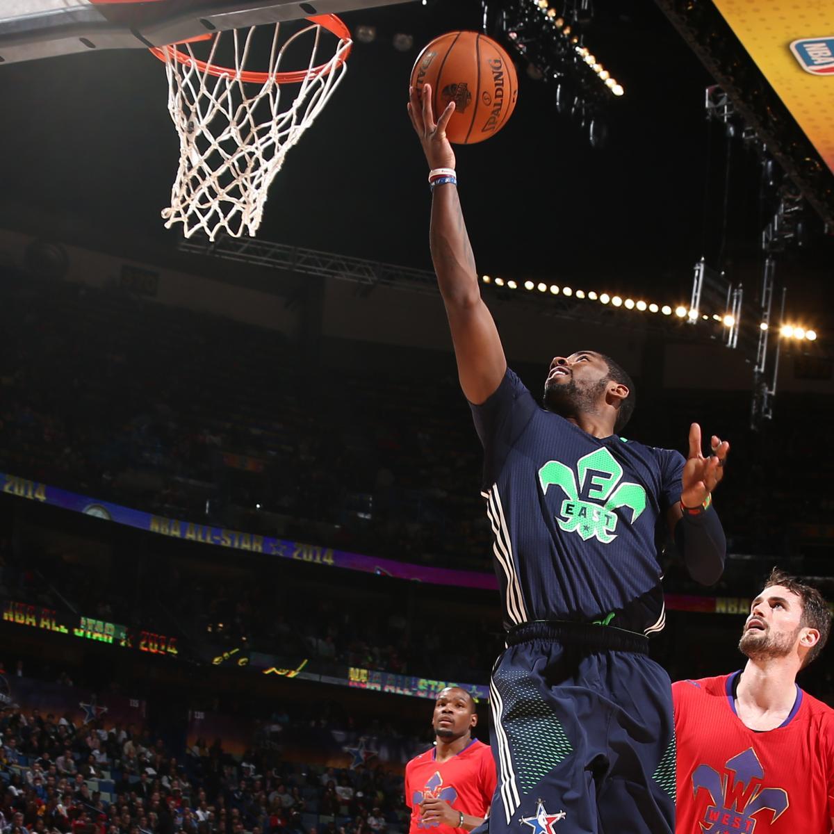 NBA All-Star Game 2014 Stats: Full Breakdown Of Eastern