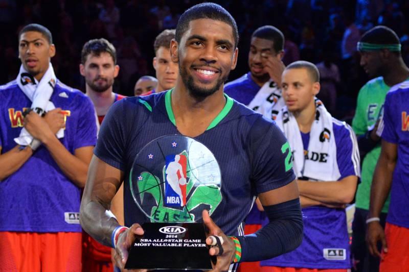 5e1be7a9398 Kyrie Irving Named 2014 NBA All-Star Game MVP