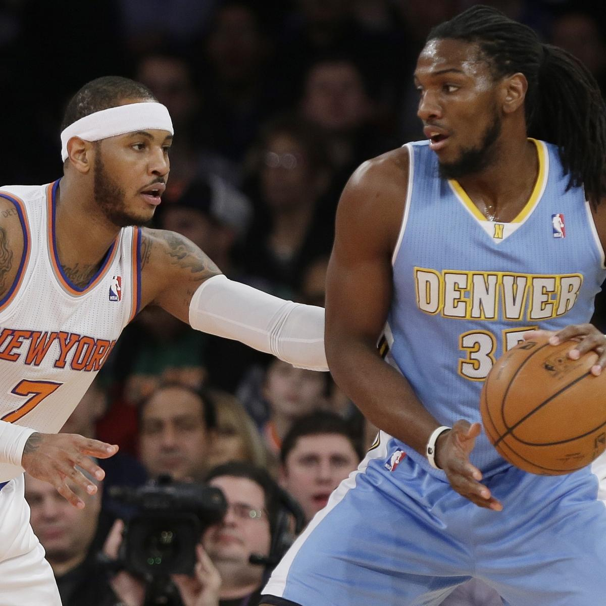 Denver Nuggets Basketball Reference: Toronto Raptors Reportedly Interested In Kenneth Faried