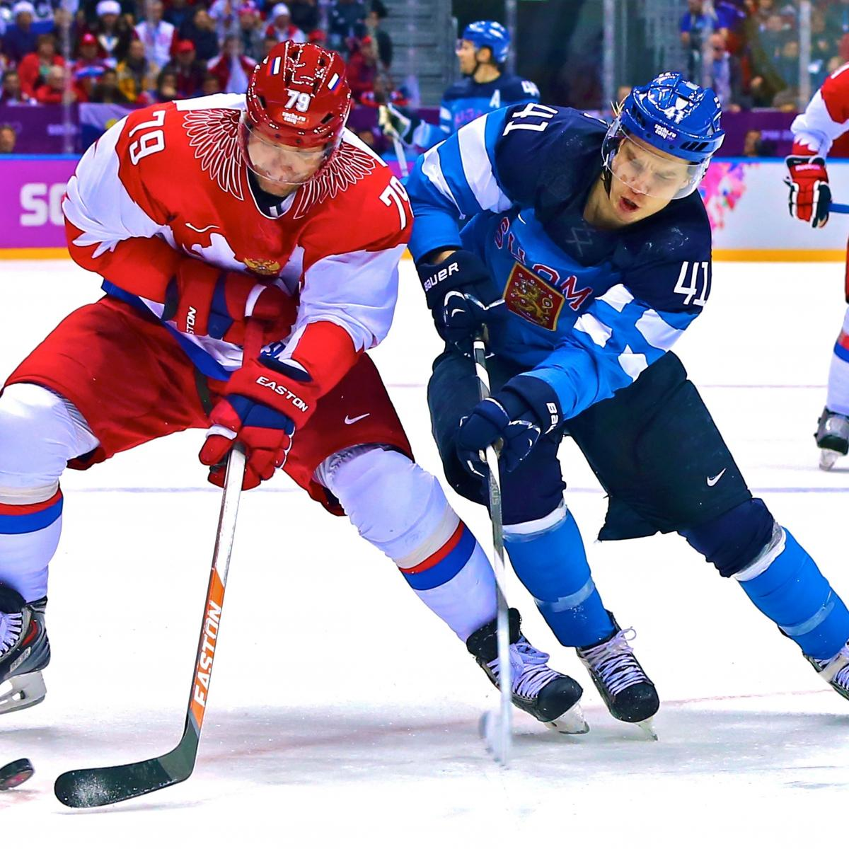 27b188b1cd2 Russia vs. Finland Olympic Ice Hockey  Live Score and Analysis ...