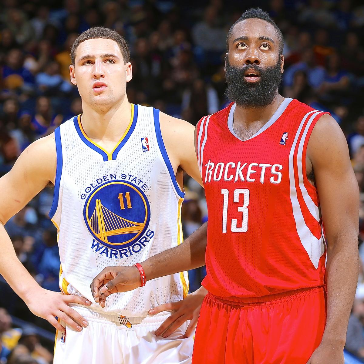 Rockets Vs Warriors Harden: Houston Rockets Vs. Golden State Warriors: Live Score And