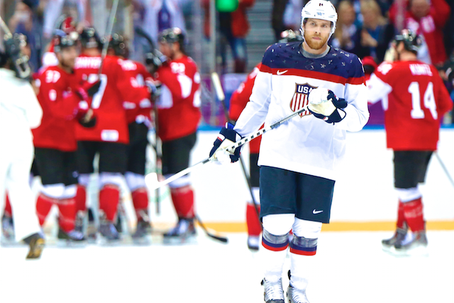 d0e92c5e3eb USA vs. Canada  Score and Recap from Olympics Hockey 2014 Semifinal ...