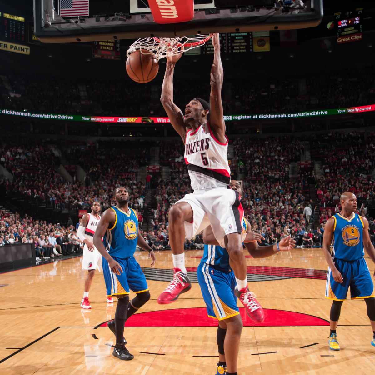 Warriors Come Out To Play Bleacher Report: Portland Trail Blazers' Will Barton Throws Down Sick 360