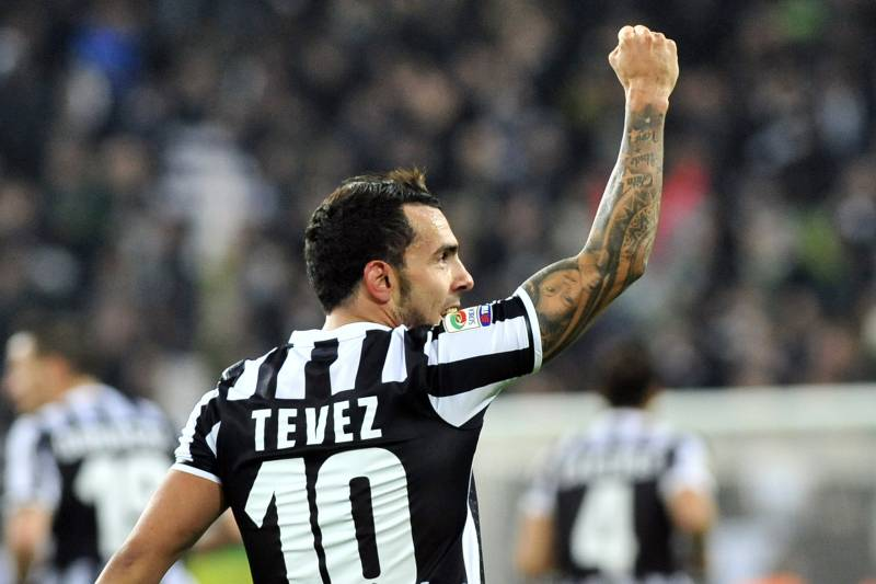 innovative design 07161 83edd Carlos Tevez Wins the Hearts of Juventus Fans with Derby ...