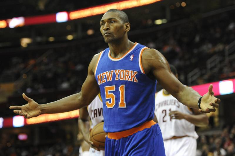 36b0e95f7 Los Angeles Clippers Will Reportedly Have Interest in Metta World ...