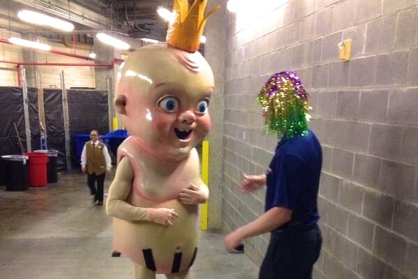New Orleans Pelicans Reveal Stunning King Cake Baby Mascot