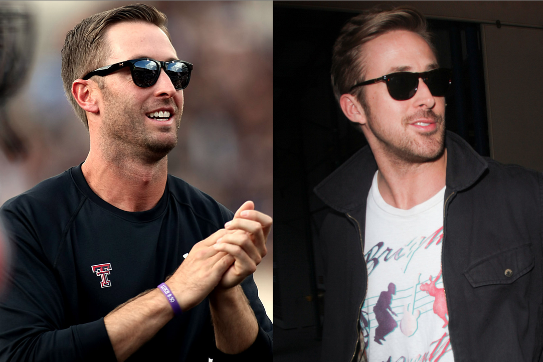 Kliff Kingsbury S Resemblance To Ryan Gosling Earns Him A