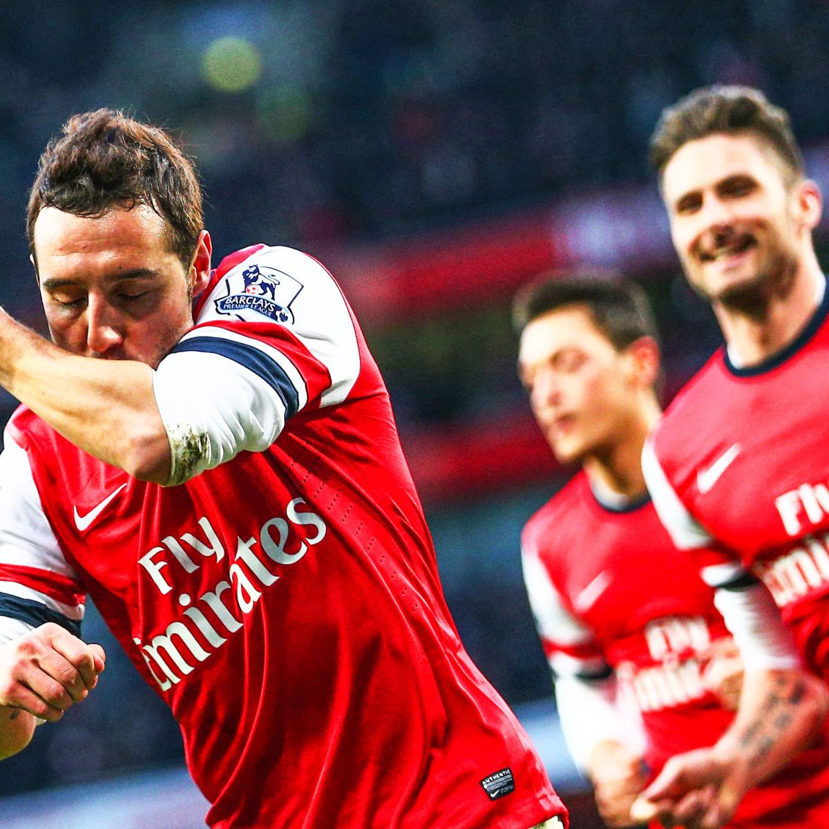 Arsenal Vs Tottenham Live Score Highlights From Premier: Stoke City Vs. Arsenal: Premier League Live Score