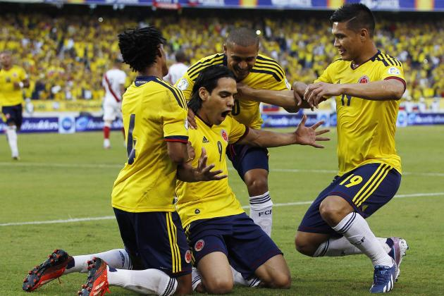Colombia World Cup Roster 2014  Full 27-Man Squad and Starting 11  Projections  4872313f9