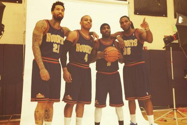 da1272943 Denver Nuggets to Wear 1993-94 Throwback Jerseys Against Clippers ...