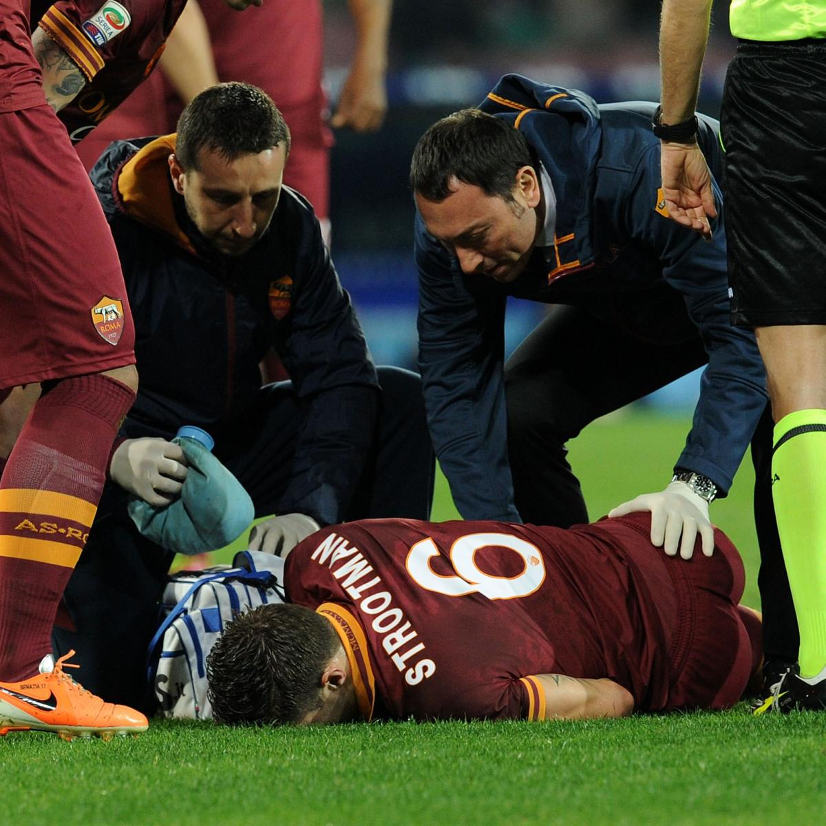 Kevin Strootman Injury: Updates on Roma Star's Knee and ...