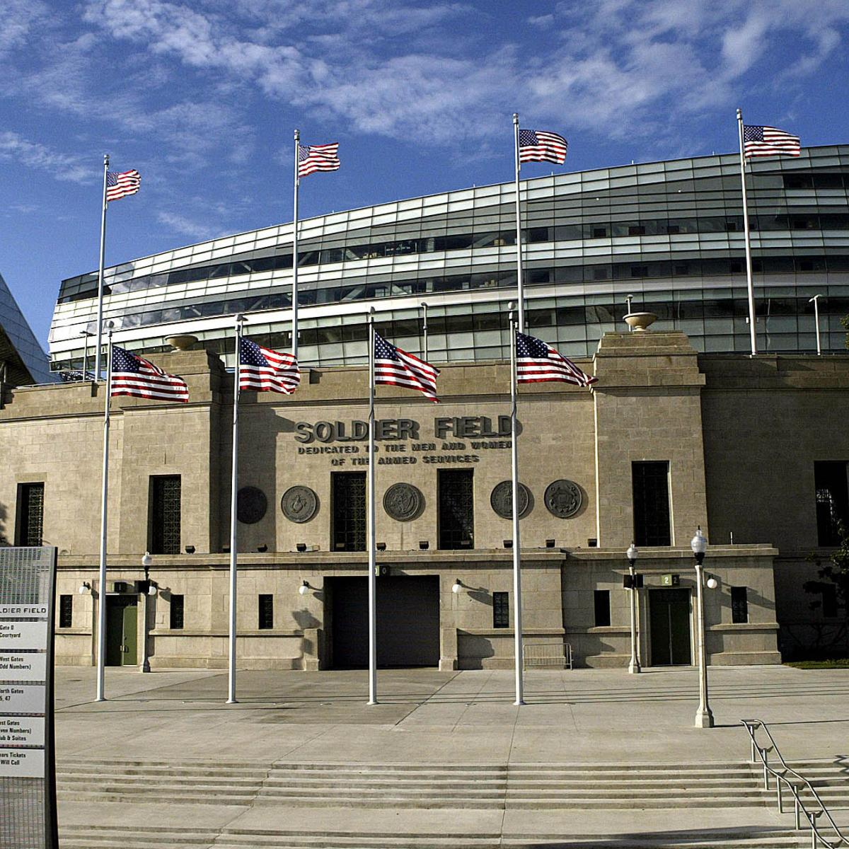 why the soldier field renovations were a mistake for the. Black Bedroom Furniture Sets. Home Design Ideas