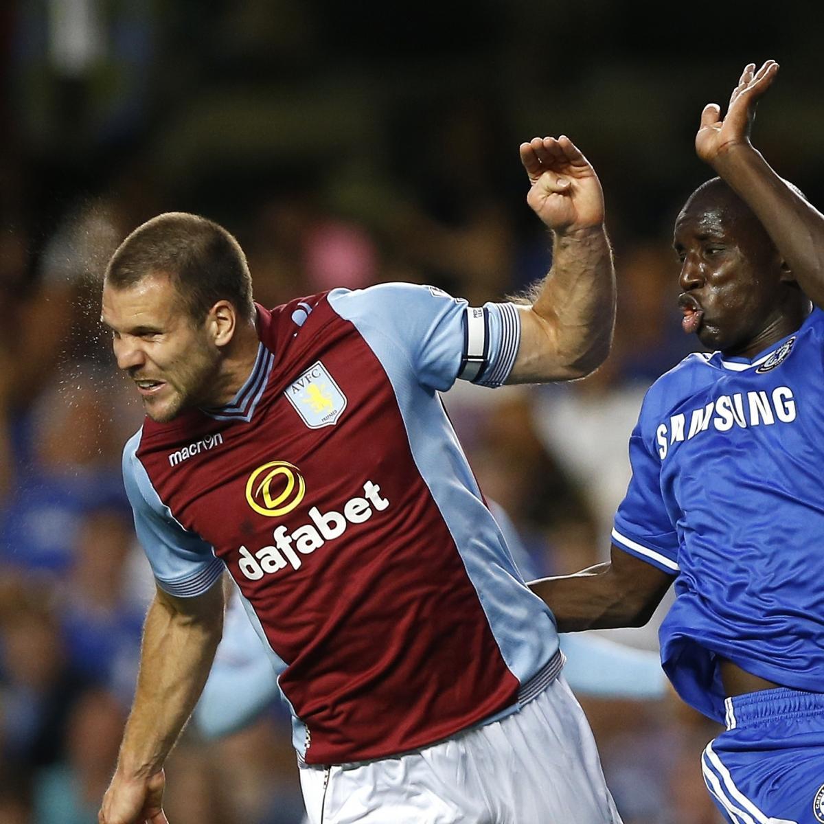 Aston Villa Vs. Chelsea: English Premier League Odds