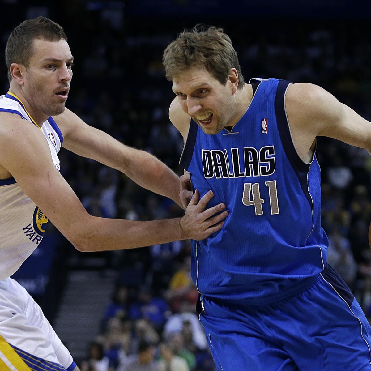 Dirk Nowitzki Ties John Havlicek for 12th on NBA's All-Time Scoring List | Bleacher Report ...