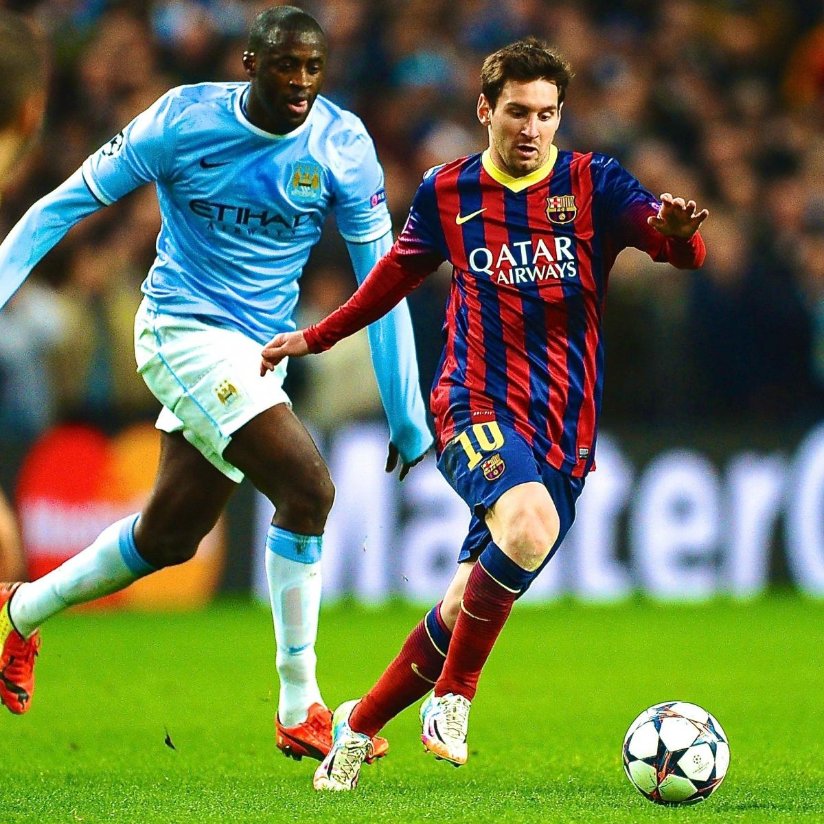 Psg Vs Manchester City Live Score Highlights From: Barcelona Vs. Manchester City: Champions League Live Score
