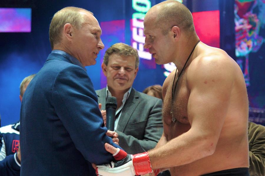 Image result for putin and fedor