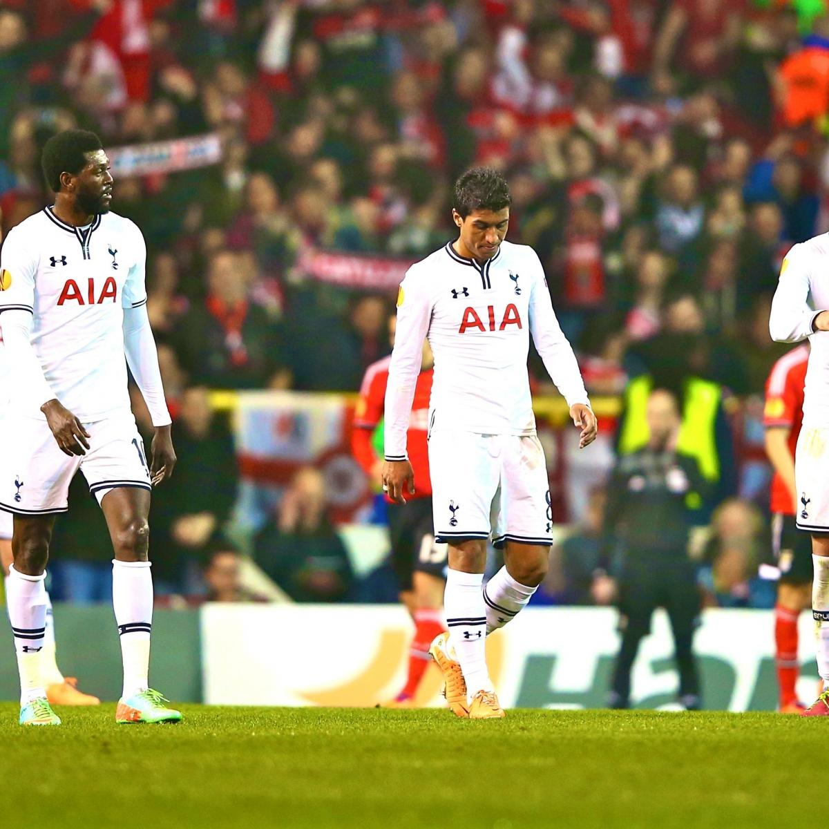 Chelsea Vs Tottenham Score Reaction From 2016 Premier: Tottenham Hotspur Vs. Benfica: Score, Grades And Post