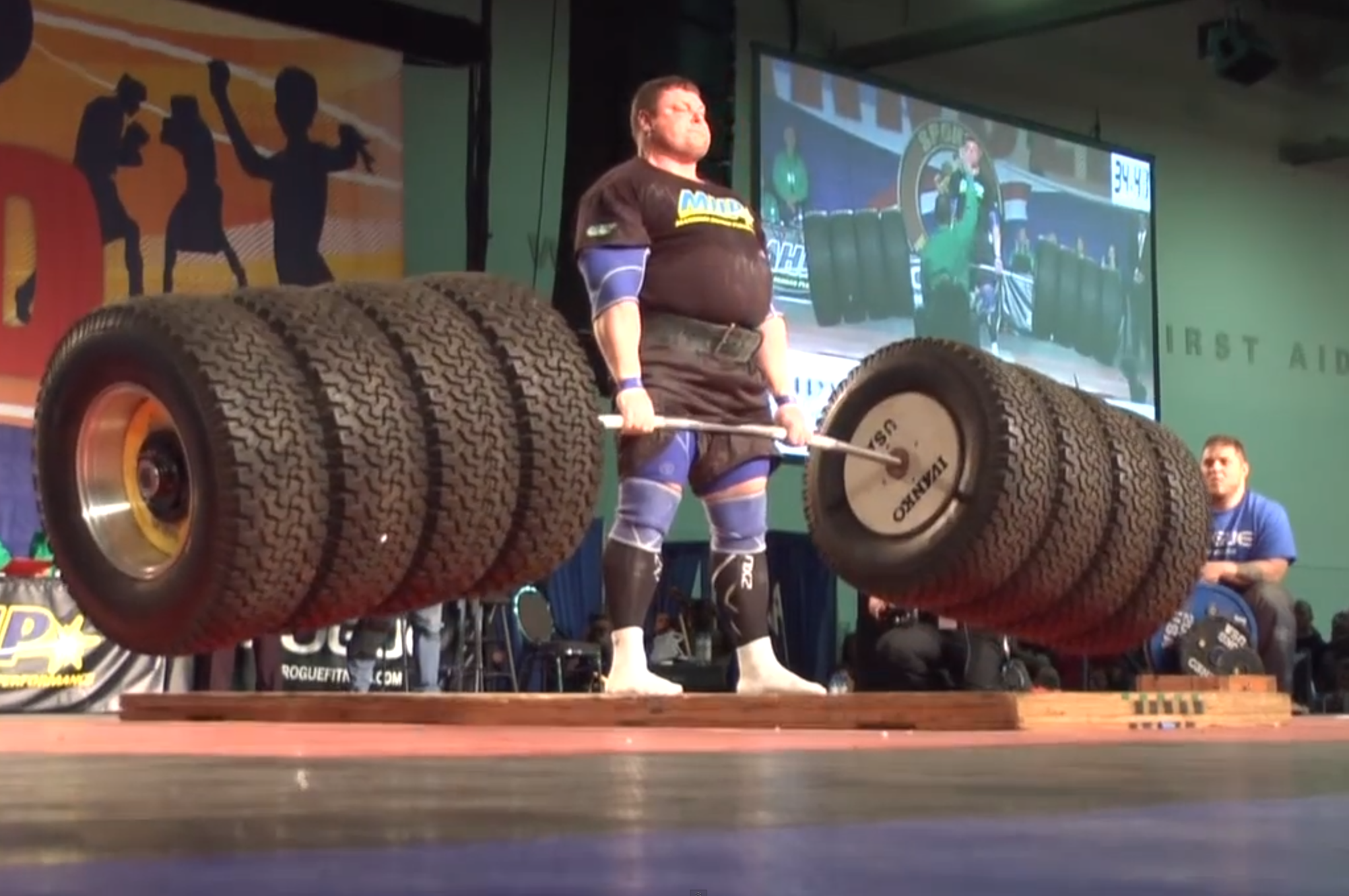 Zydrunas Savickas Breaks the World Record by Deadlifting 1,155 Pounds |  Bleacher Report | Latest News, Videos and Highlights