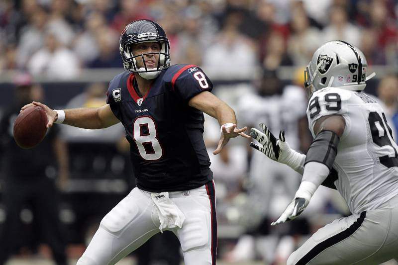 the latest e51b3 b38ad Why Trading for Matt Schaub Was Best Option for the Oakland ...
