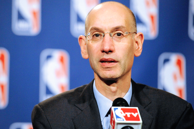 7bfc876a9 Adam Silver  I ll Meet with LeBron and Kill Sleeved Jerseys If Players  Insist