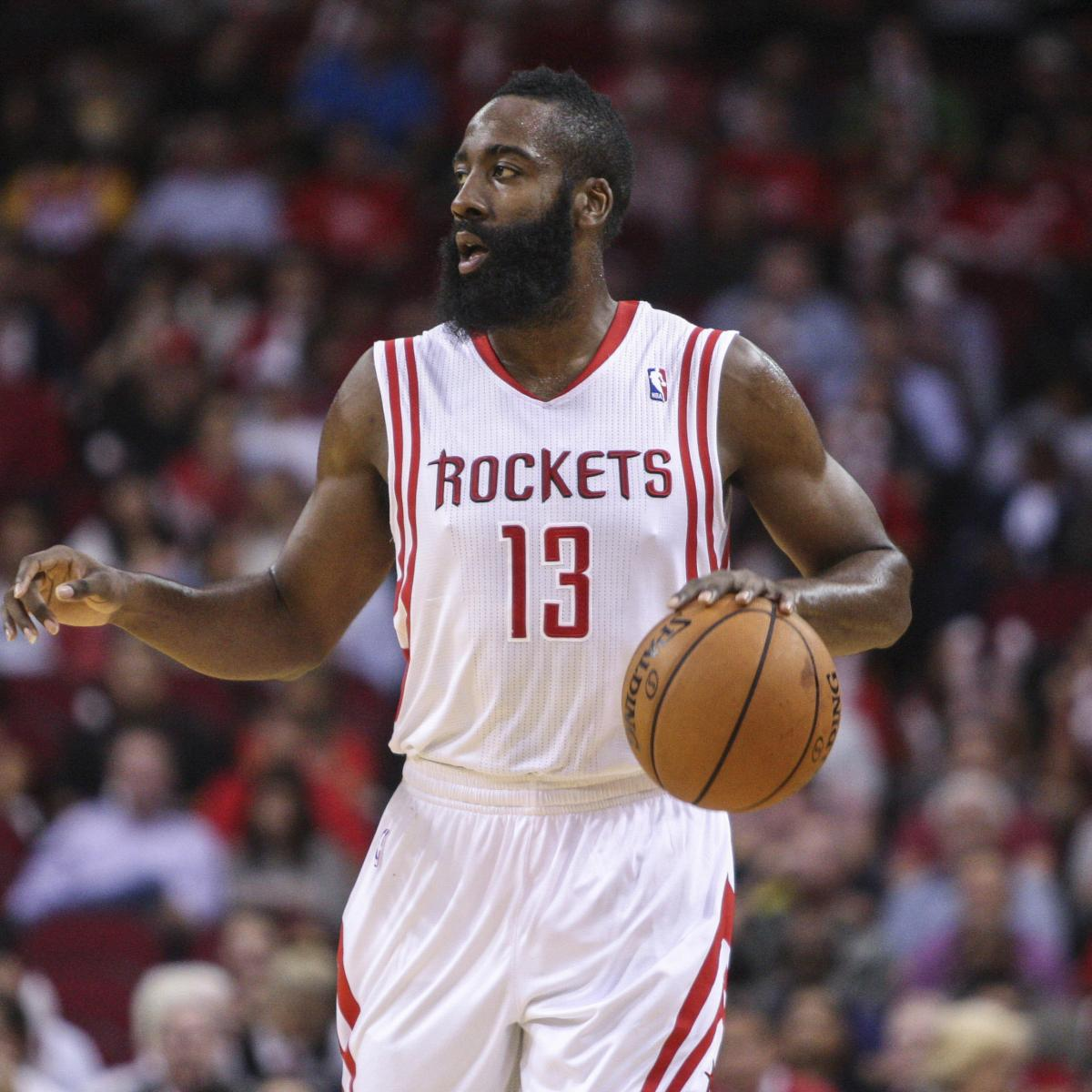 James Harden Injury Report: Houston Rockets Vs. Charlotte Bobcats: Live Score And