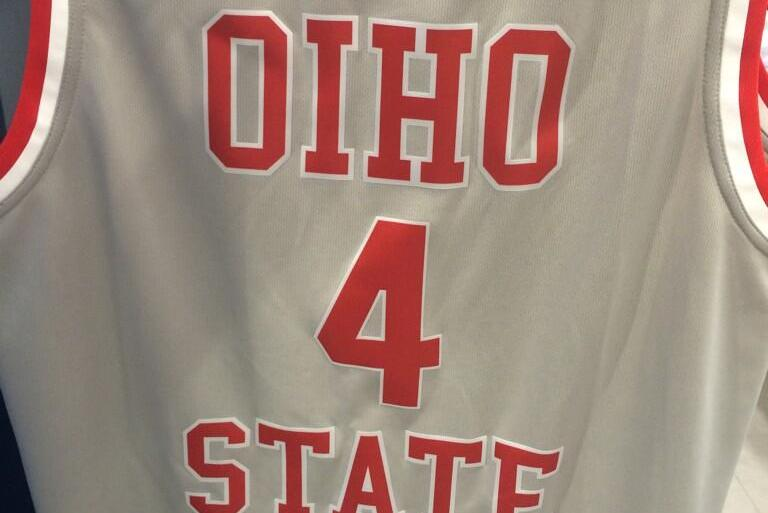 huge discount 3d9be be61c Columbus Foot Locker Features 'Oiho State' Basketball Jersey ...
