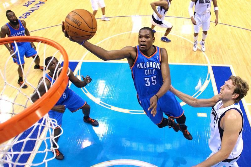 Oklahoma City Thunder Vs Dallas Mavericks Live Score And