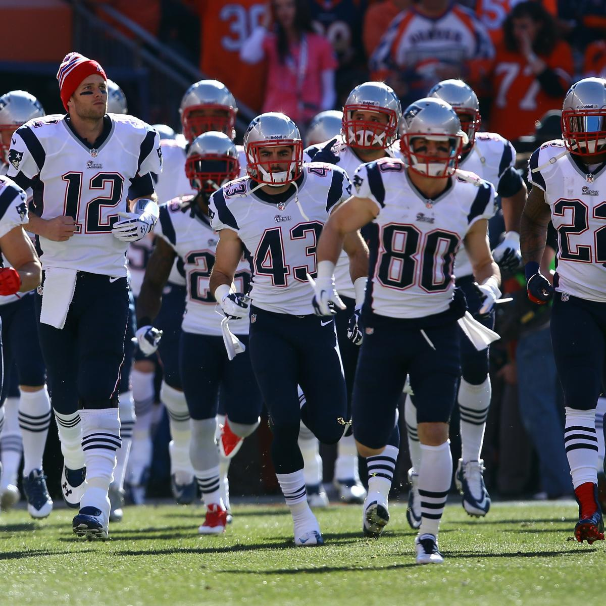 Projecting New England Patriots Depth Chart After Peak Of