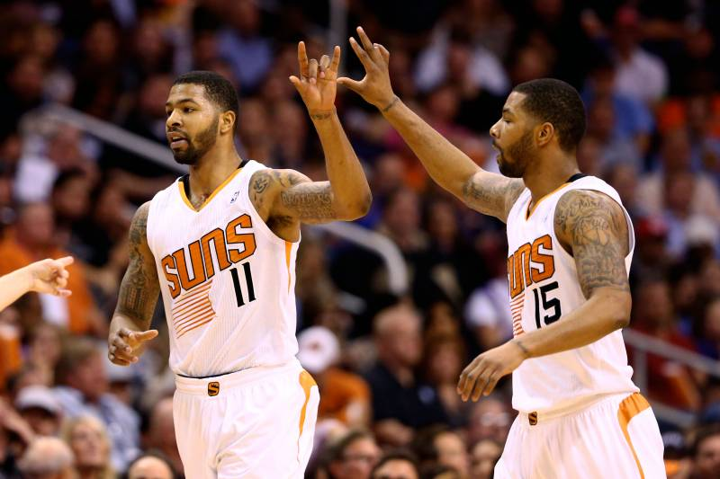 ac816ee5aba How to Tell Phoenix Suns  Markieff and Marcus Morris Apart ...