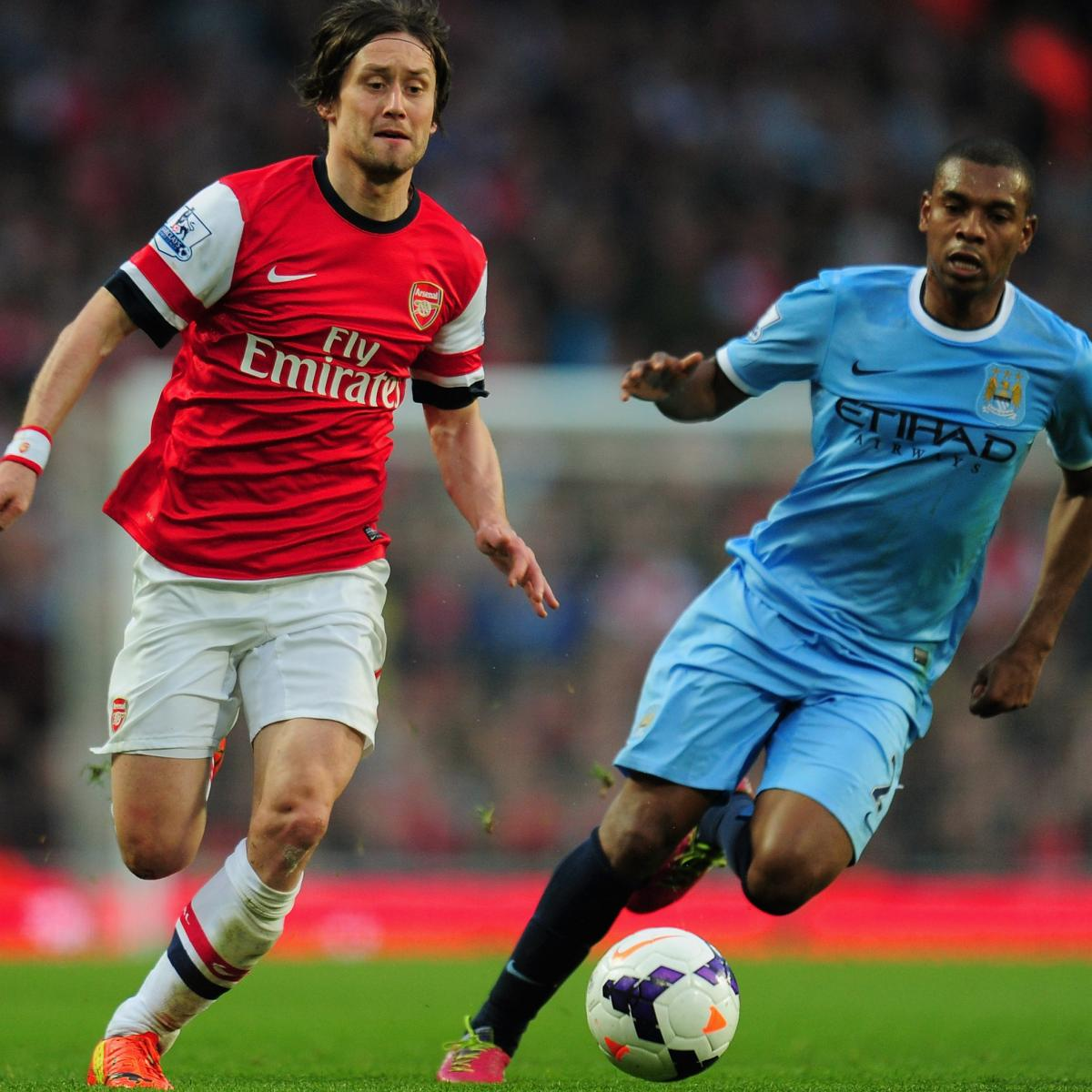 Arsenal Vs Tottenham Live Score Highlights From Premier: Arsenal Vs. Manchester City: Premier League Live Score