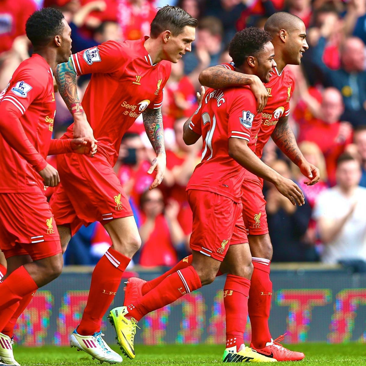 Liverpool 4 0 Borussia Dortmund Match Report Philippe: Raheem Sterling And Liverpool Throw Down Title Gauntlet