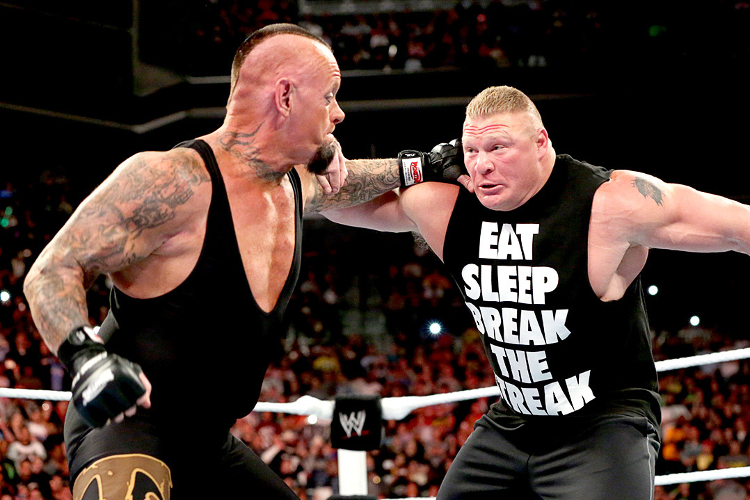 Brock Lesnar Tracing The Biggest Moments To WrestleMania Match