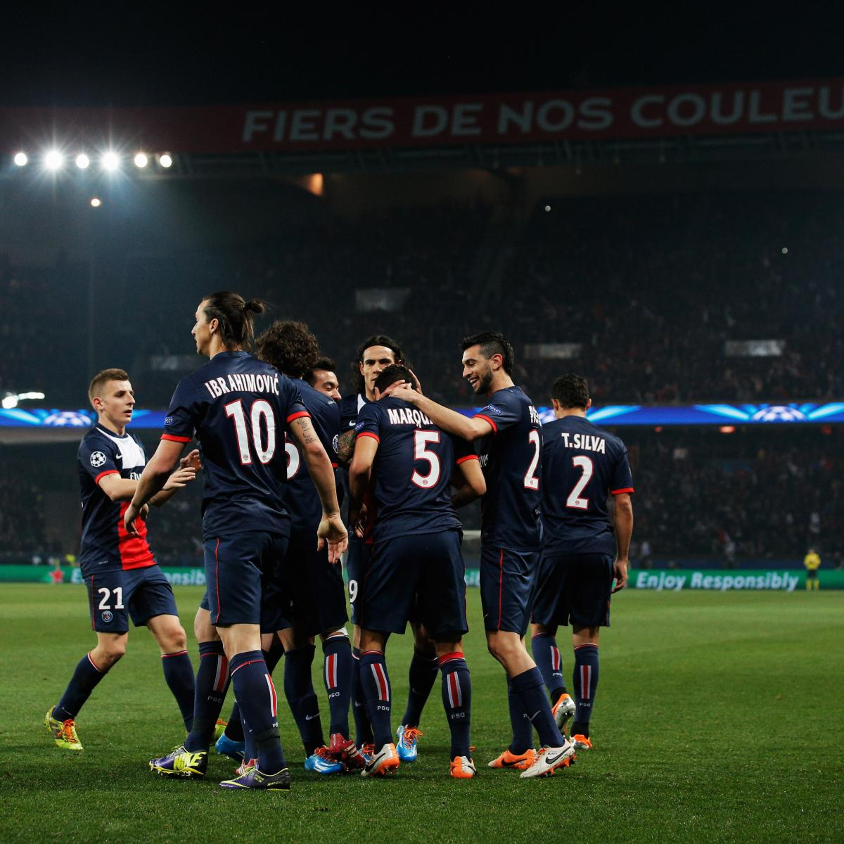 Photos Chelsea Vs Paris Saint Germain: How Paris Saint-Germain Will Line Up Against Chelsea