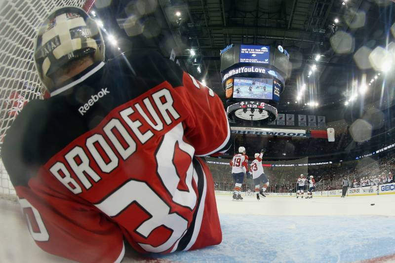 Dave Lozo S Bag Skate Is Martin Brodeur Tarnishing His Legacy In