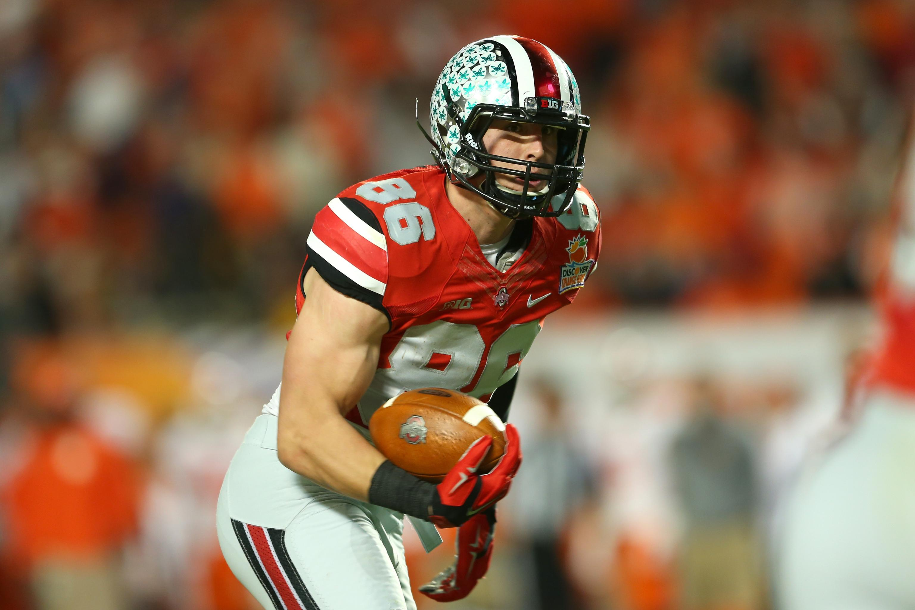 pretty nice ebcf1 d235a Ohio State Football: TE Jeff Heuerman Out for Spring with ...