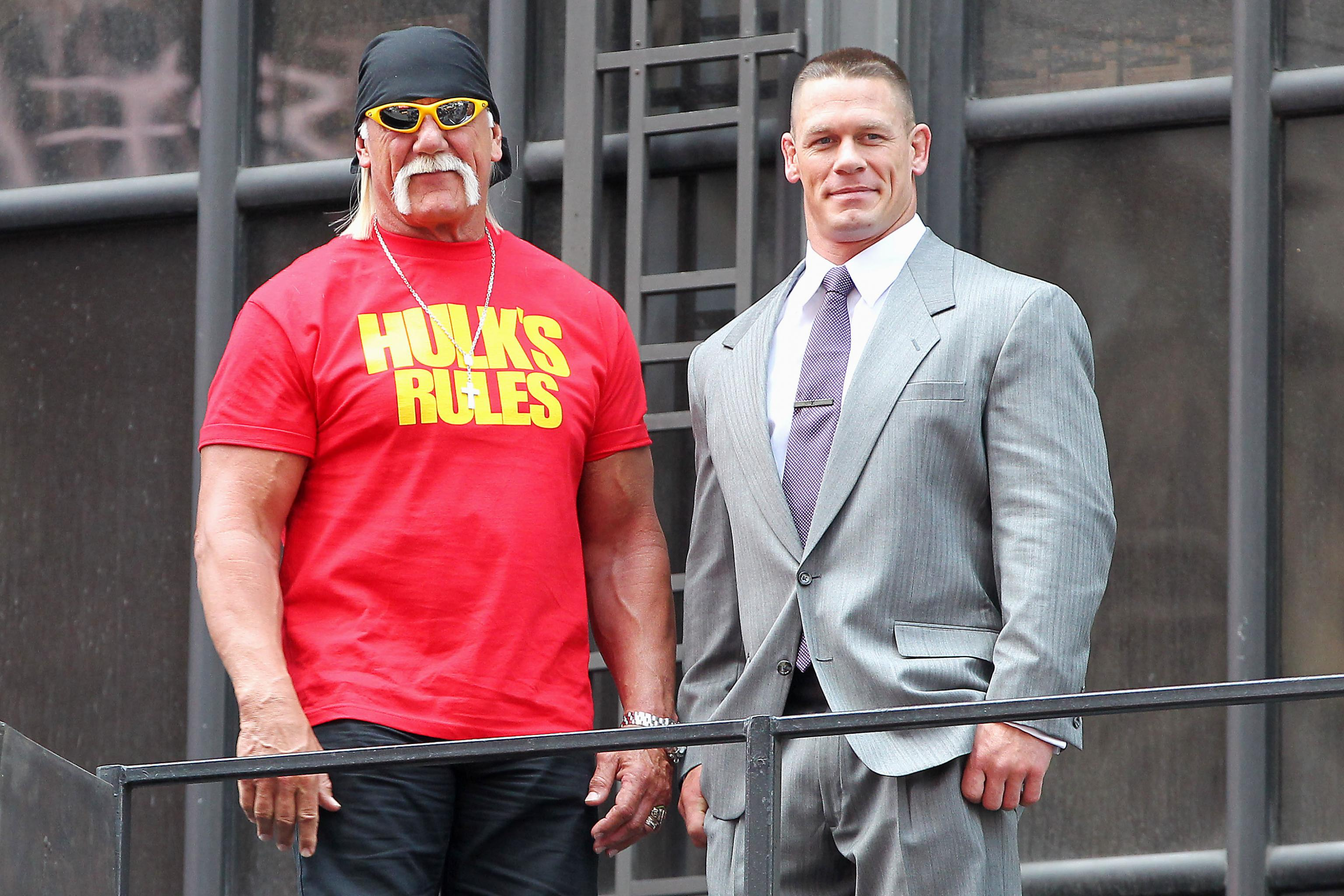 Hulk Hogan vs John Cena-Reason The Dream Match Never Happened In WWE 1