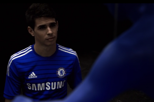 sports shoes 41bd7 568fe Chelsea Reveal New Home Adidas Kit in Video Featuring Eden ...