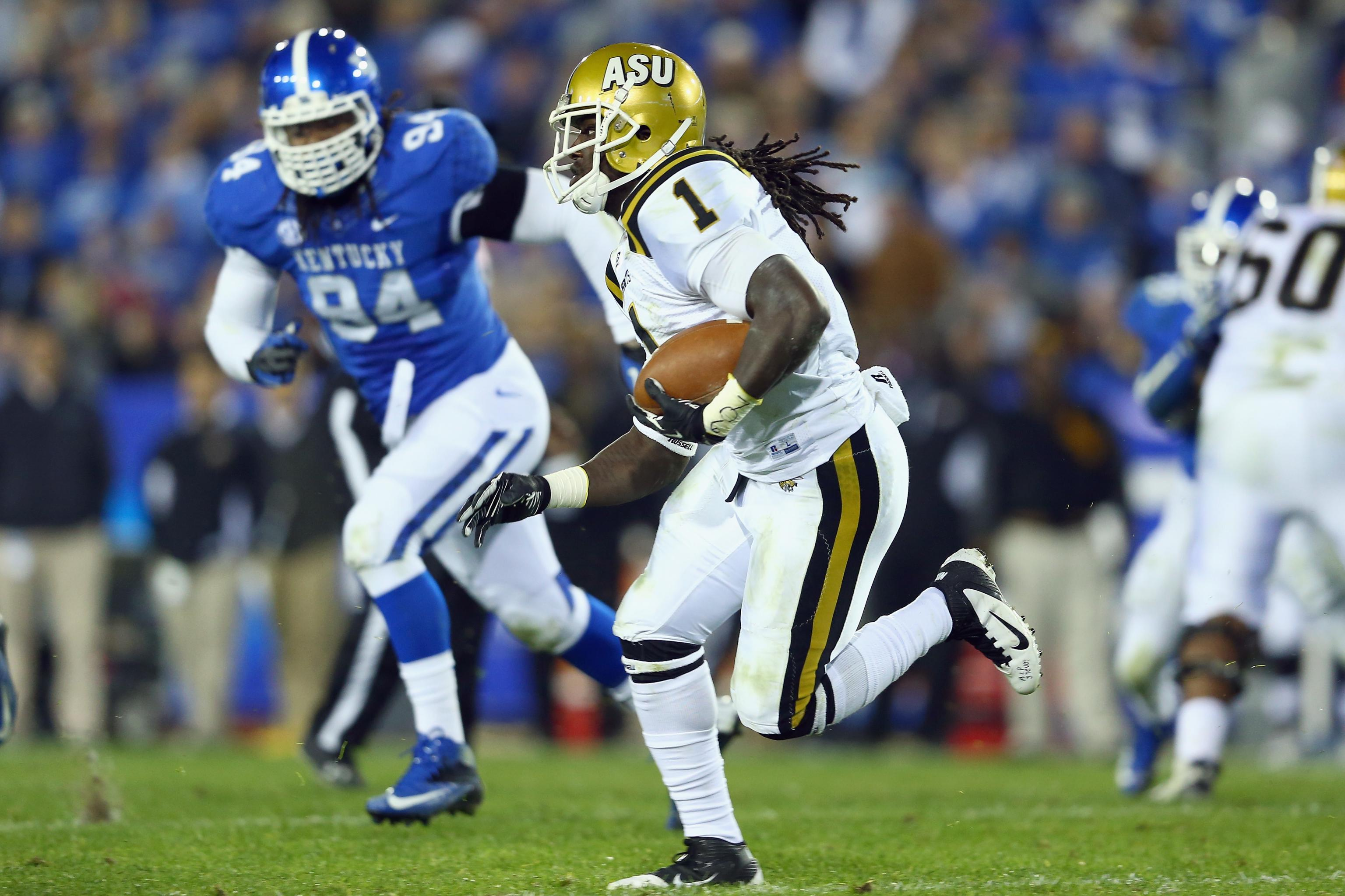new style b5a10 ddf54 Isaiah Crowell NFL Draft 2014: Highlights, Scouting Report ...