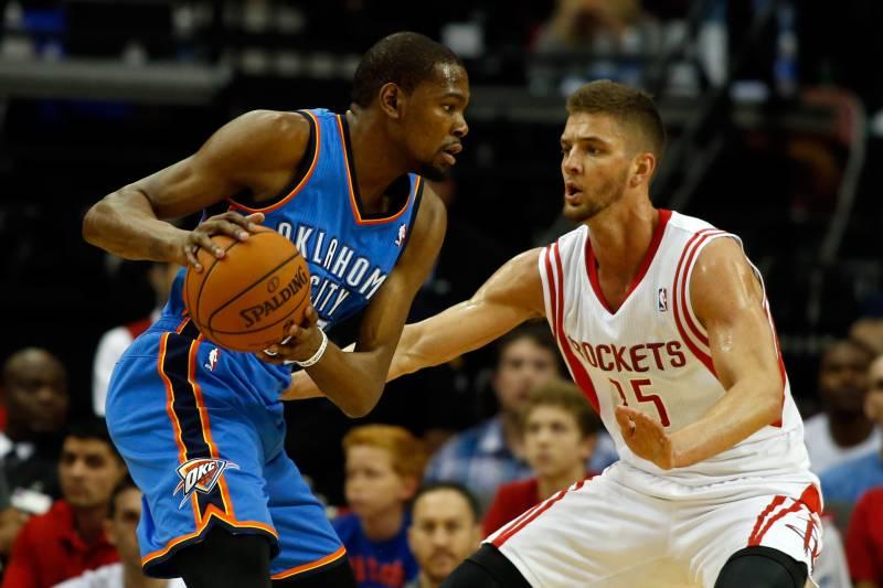 fb52e150e648 Oklahoma City Thunder vs. Houston Rockets  Postgame Grades and ...