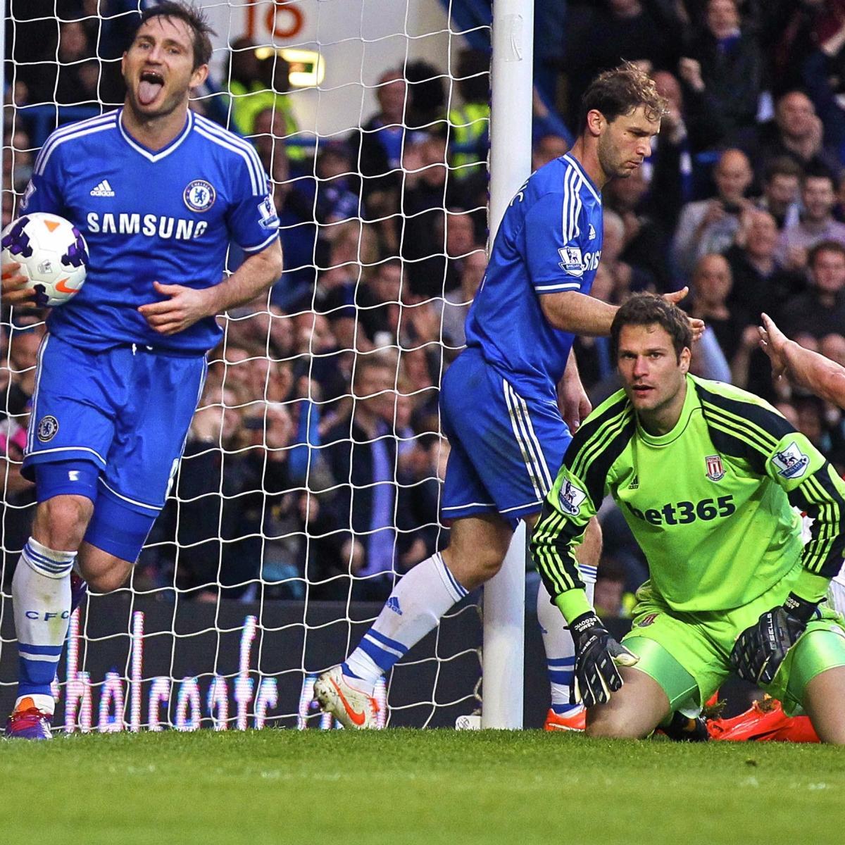 Chelsea Vs. Stoke City: Premier League Live Score