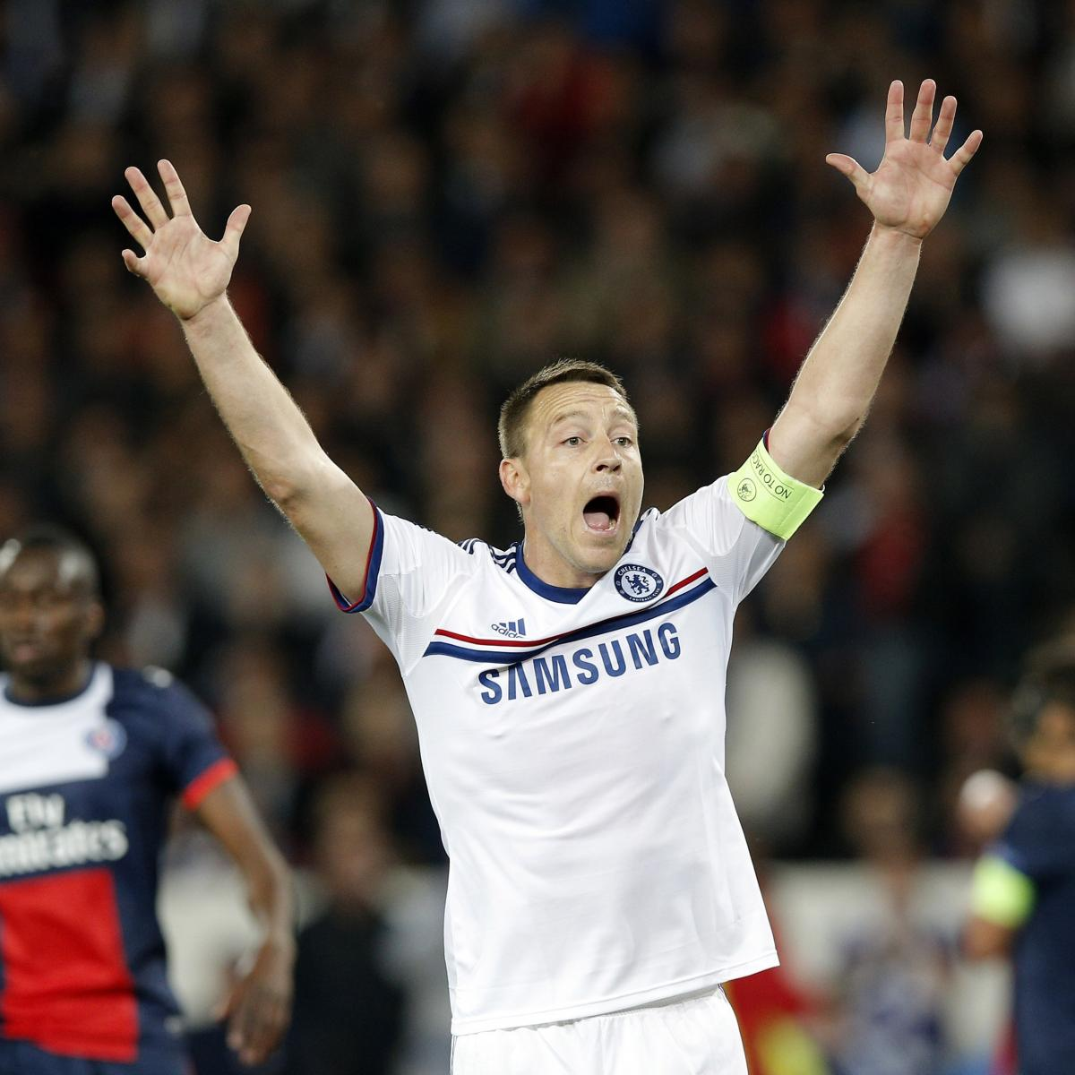 Photos Chelsea Vs Paris Saint Germain: Chelsea Vs. Paris Saint-Germain: UEFA Champions League
