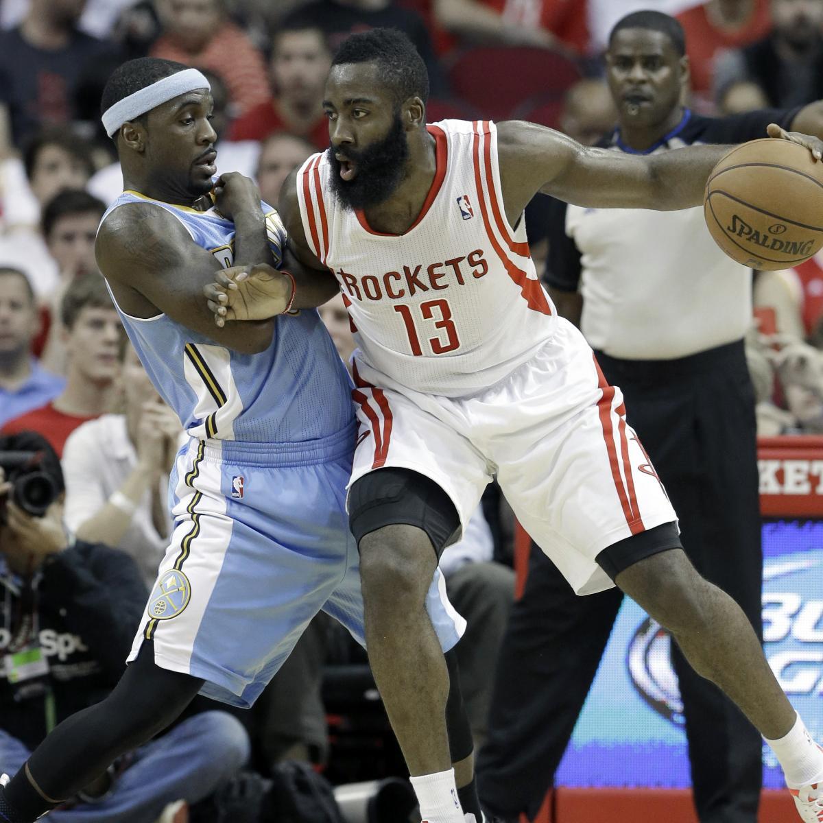 Houston Rockets Vs Denver Nuggets: Denver Nuggets Vs. Houston Rockets: Live Score And